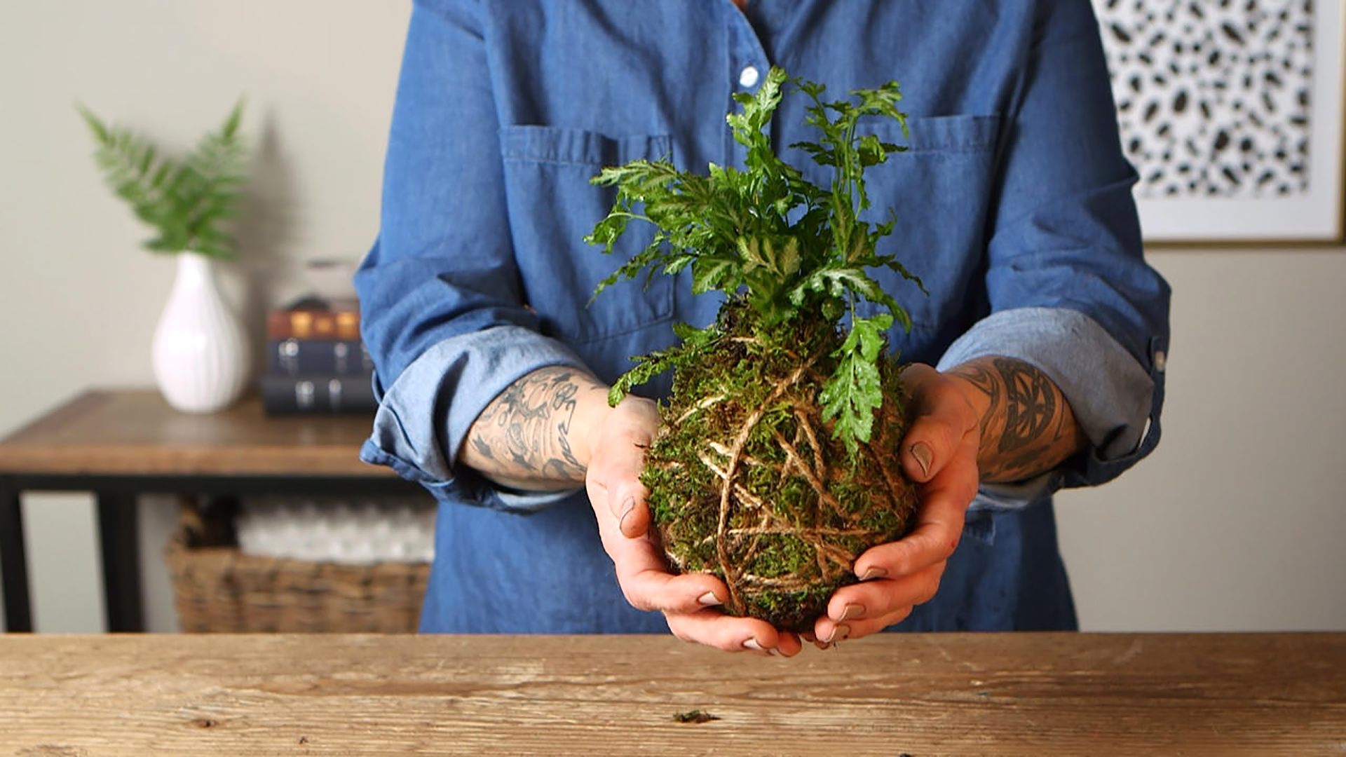 How to make a kokedama? Step by step guideline